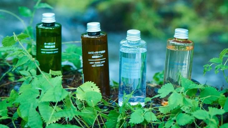 "MUJI無印良品:無印良品のスキンケア 「水のはなし」 | MUJI Skin Care ""Story about water"""