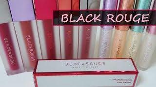 セール中!Black Rouge ブラックルージュ✯韓国コスメ✯ベルベットティント&リキッドグリッター