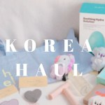 KOREA HAUL / 韓国旅行購入品 / コスメ / ファッション