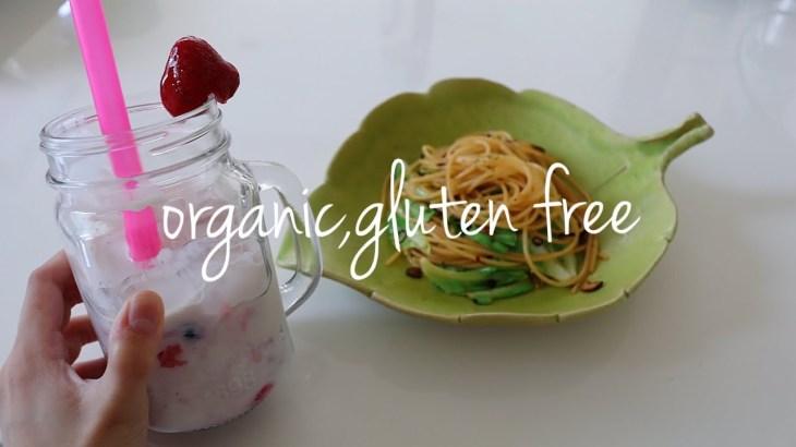【健康・ダイエット】オーガニックとグルテンフリー無添加なパスタランチ 猫と過ごすvlog