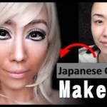 "Japanese ""Ganguro"" makeup. ガングロメイクに挑戦"