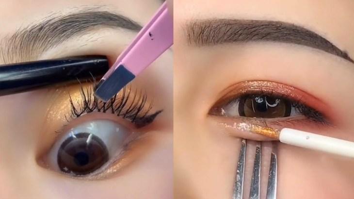 Beautiful Makeup Tutorial Compilation ♥ 2021 ♥ Part 12   美しいメイクガイド   2020年の美容トレンド12