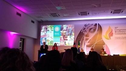 Palestra sobre certificação halal no Congresso Brasileiro de Cosmetologia 2017