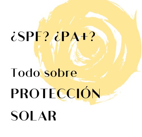 SPF o PA crema solar