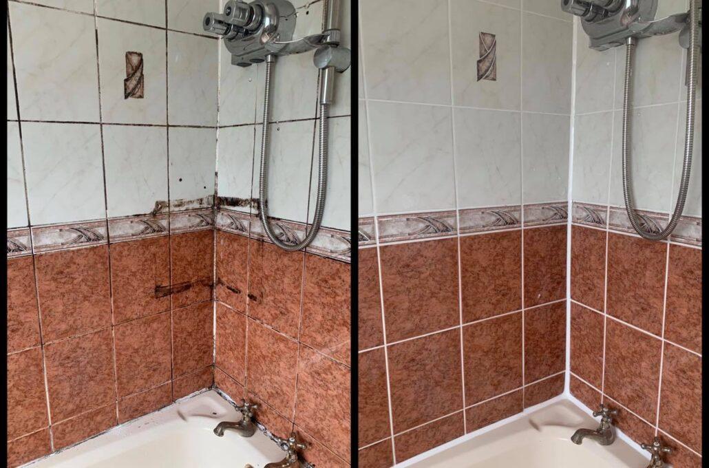 shower area restoration cosmetic