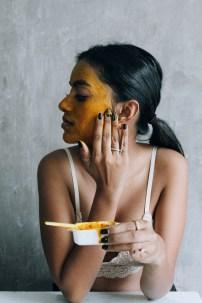 turmeric and honey masks