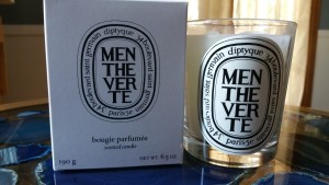 Diptyque Menthe Verte Candle - Review and Photos