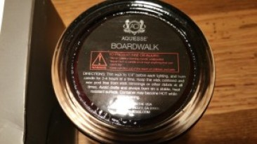 Aquiesse No 017 Boardwalk Candle - Made in the USA