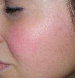 Wearing Bobbi Brown Pale Pink over Sand Pink - with flash