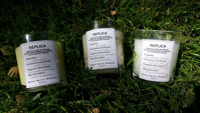 Replica by Maison Martin Margiela - Beach Walk, Jazz Club, and Lazy Sunday Morning scented candles