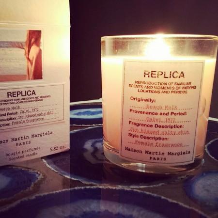 Replica Beach Walk candle
