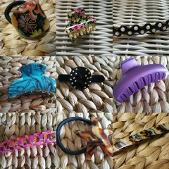Sunshine on My Hair Blues – Reviews & Photos of France Luxe and L Erickson Hair Accessories