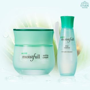 ETUDE HOUSE Aloe Moistfull Soothing Cream Set (3)-min