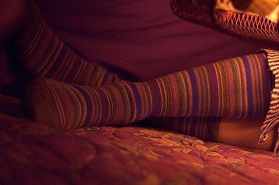 靴下を履いて寝ることは効果があるので良い