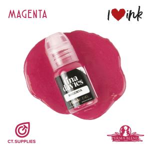 Permablend Pigments Tina Davies Lip Magenta UK