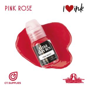 Permablend Tina Davies Lip Pink Rose UK