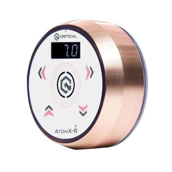 Critical AtomX-R Power Supply Rose Gold White Cosmetic Tattoo Supplies