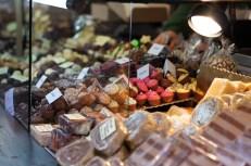 Weihnachtsmarkt Christmas market Germany chocolate pralines