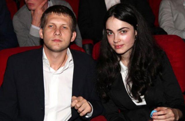 Борис Корчевников с бывшей гражданской женой Сесиль