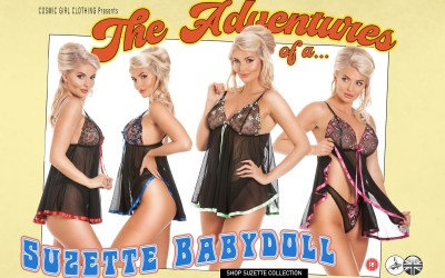 The Adventures of a Suzette Babydoll Nighty
