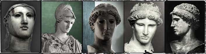 * Pallas Athéna dans la statuaire *