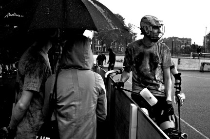 Playing in the rain - LO2013 by Wigan Will