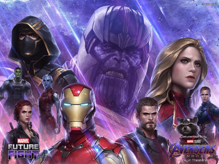 Hulk Vs Thanos In Avengers Endgame Marvel Future Fight