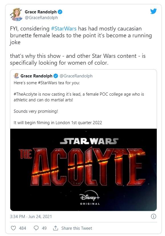 Star Wars The Acolyte Seeking Female Poc For Lead Cosmic Book News