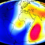 VIDEO OF EARTH'S EVER-CHANGING MAGNETIC FIELD