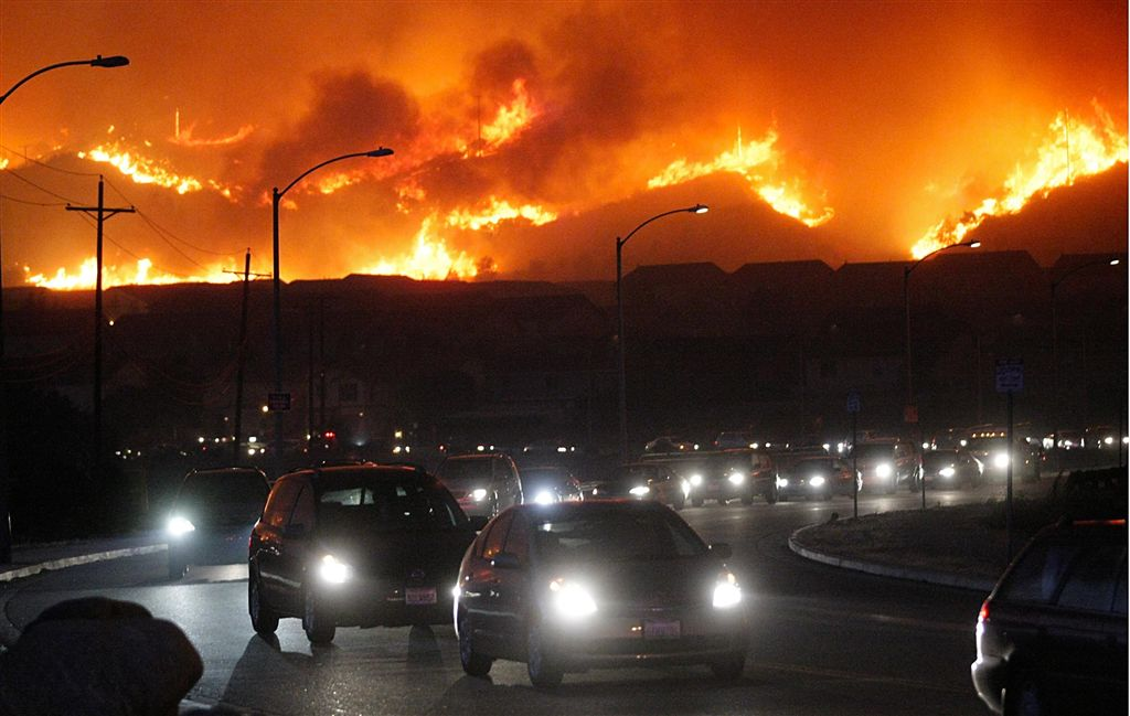 APTOPIX_Wildfires_290550a