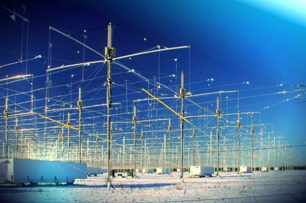 HAARP is the High Frequency Active Auroral Research Program. It is an ionospheric research program jointly funded by the U.S. Air Force, the U.S. Navy, the University of Alaska, and the Defense Advanced Research Projects Agency.
