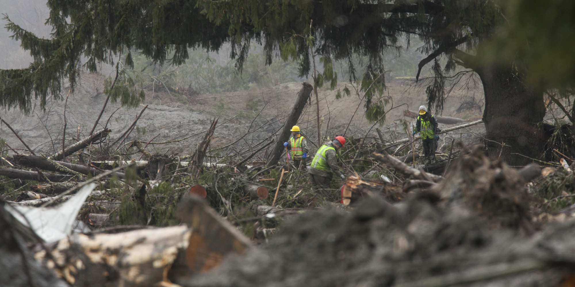 Death Toll Continues To Mount After Massive Washington Mudslide