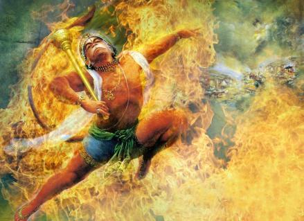 hanuman-fire
