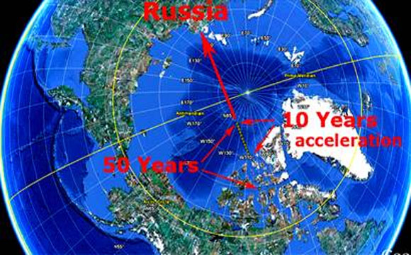 New-Accurate-Location-Of-The-Magnetic-Pole-Shift-At-Half-Way-Point-Factual-Events-Occuring