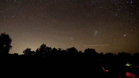 2012-05-22 Magellanic Clouds and Canopus