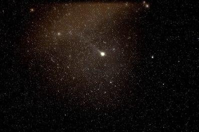 2013-02-08 Comet Lemmon, 47x10sec, 135mm, f/2, ISO 3200