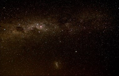 2013-03-13 Milky Way - 6 x 30sec, 13mm, f/3.5, ISO 3200