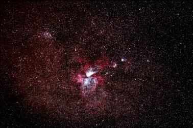2013-05-05: Carina Nebula & NGC 3532 - 5 x 30sec.