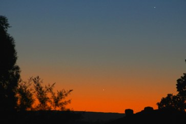 2013-05-25: Jupiter, Venus, Mercury.