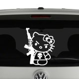 Hello Kitty Inspired Decals