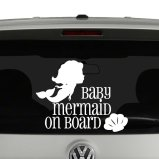Baby On Board Vinyl Decals