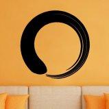 Enso Circle Zen Buddhism Vinyl Wall Decal