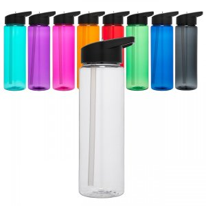 Water Tracker - Drink Your Effing Water Sports Water Bottle 24 Oz