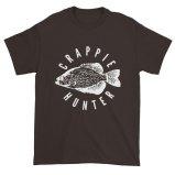 Crappie Hunter Fishing Lovers Short Sleeve T-Shirt