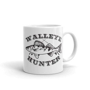 Walleye Hunter Fishing Lovers Coffee Mug