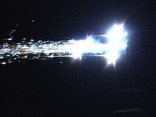 Image: Hayabusa re-entry