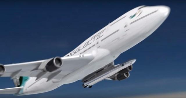 Image: Virgin Galactic jet