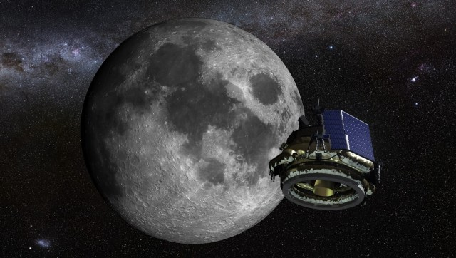 Image: Moon Express in space