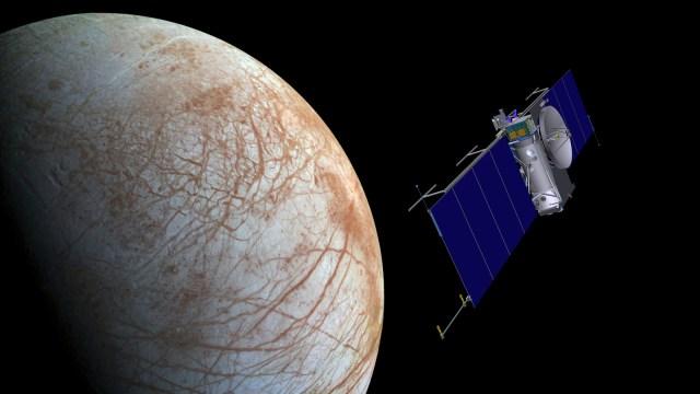 Image: Europa orbiter