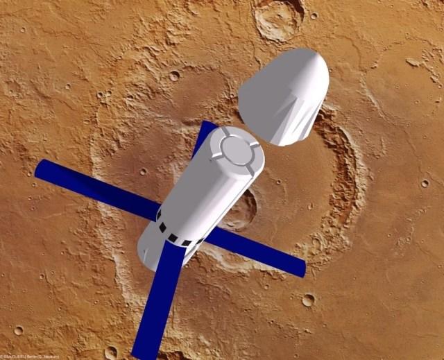 Image: Mars Colonial Transporter
